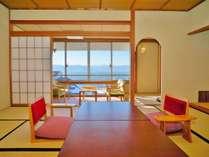 【諏訪湖を望むフロア】眺望例4