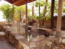 露天風呂湯 信州の風を感じながら心ゆくまでお楽しみ下さい。