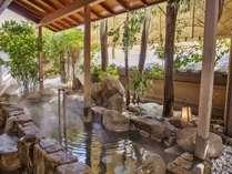 歴史ある温泉をこころゆくまで楽しめる露天