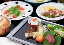 1万円ポッキリプランのご夕食は「和食の創作料理」♪