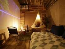 CAMP DOUBLE ROOMのお部屋の様子