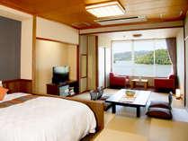 ≪浜名湖側≫和室12畳和ベッド【禁煙】