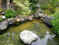 ■庭園露天風呂■庭園を眺めながらの~んびり♪露天は1つなので、22時に男女入替致します。