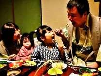 ご家族でゆっくりお部屋食(*^_^*)