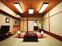 <ペットと一緒に泊まれるお部屋 10畳和室>一例