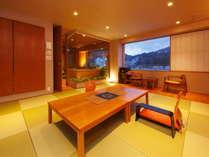 展望風呂付客室でうまいもん三昧+讃岐県産牛ステーキ
