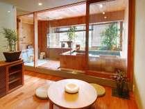 匠が造ったデザイナーズ貸切風呂『福舟』ご予約にてご利用頂けます。