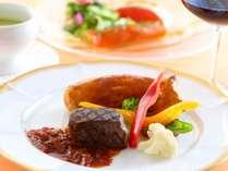 ■スタンダードプラン お料理一例 お肉料理 ワインとご一緒に