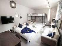 Room 1 シングルベッド/二段ベッド