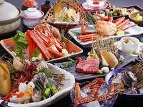 【人気NO1☆春爛漫P】但馬牛ステ-キ&活アワビ&茹でカニで◎超豪華料理で城崎旅