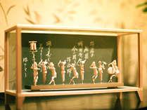 阿波の伝統工芸・竹細工。徳島の魅力を存分にご体感いただけるお部屋