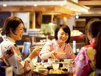 造里、天婦羅、寿司からご当地スイーツまで90種以上が並ぶ郷土料理バイキング「彩」