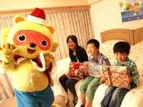 お部屋にリゾッ太サンタがやってくる☆サンタズカミング♪♪お子様も大喜び!