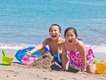 水質バツグン、サラサラの砂♪プライベートビーチで海水浴を思いっきり楽しもう☆