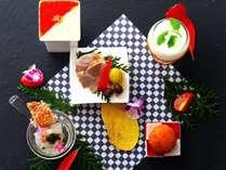 最上階のレストランフォーシーズンでお箸で気取らずフレンチ懐石♪/紅葉鯛フレンチ懐石イメージ