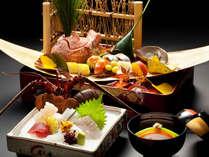 鳴門鯛や伊勢海老のおめでたい席を彩る会席料理に舌鼓♪/鳴門御祝会席(一例)