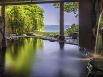 潮騒のBGMに癒されながら、美人の湯とも呼ばれる温泉で寛いで…☆朝日やムーンロードも美しい。