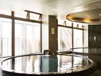 8F展望風呂「瑠璃」