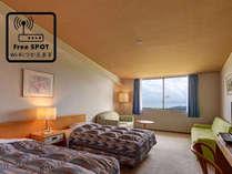 *【ツインルーム】お部屋でWi-Fi接続可能で快適!