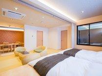 ◆露天風呂付客室67.5平米A◆5名定員/和ベッド+露天風呂+シャワー室+食事部屋+居間