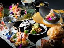 【瀬戸内の旬な彩会席】旬の食材と伝統の技が織り成す当館自慢の会席料理。目と舌でご堪能ください。