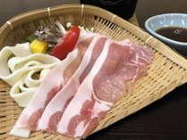 【奥利根もち豚しゃぶしゃぶ会席】とろけるおいしさを是非ご堪能くださいませ!