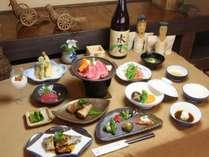 野沢の郷土料理。 ここでしか食べられないすべてが手作りの田舎料理