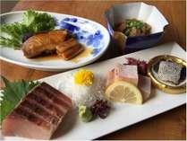 冬旅! ノドグロ焼魚定食+セレクト料理&貸切風呂付プラン☆★
