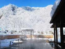 【希みの湯】絶景の雪見露天風呂