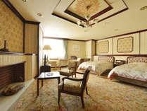 【やすらぎ館】特別室「北星・北斗」~ツインのお部屋(写真は北星)
