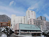 【外観】冬~定山渓ならではの良質の温泉で温まってください