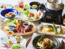 【美泉遊膳】<7-8月>土日祝、お盆だけの特別膳。夏の旬素材をいかした献立をご賞味くださいませ