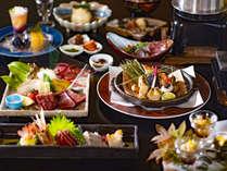 【美泉遊膳】<9-11月>土・日・祝日だけの特別膳。秋の旬素材をいかした献立をご賞味ください