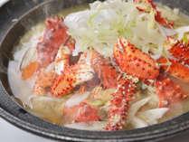 【夕食バイキング9-11月】花咲蟹の鉄砲汁(根室)
