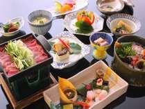 旬を何よりも大切に一品一品贅を尽くした会席は古都奈良の料理旅館ならでは