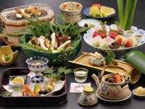 【9~10月限定松茸プラン一例】大観荘のお料理で秋の訪れをお愉しみ下さいませ