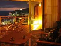 【客室一例】「DX和洋室一例」熱海の景色を見ながらゆっくりお過ごし下さい。