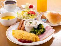 【朝食付】~パン・ごはんおかわり自由!!コーヒーも付いています!