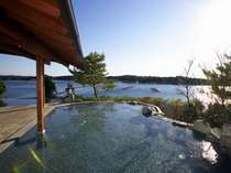 伊勢志摩温泉「朝なぎの湯・夕なぎの湯」の庭園露天風呂(女湯)