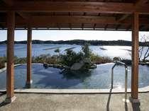 伊勢志摩温泉「朝なぎの湯・夕なぎの湯」の庭園露天風呂(男湯)