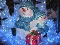 フロントロビーもクリスマスムードいっぱいでお出迎え♪