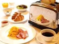 朝食:アメリカンブレックファスト(スクランブル)