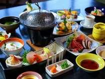 お料理グレードアップ↑新鮮なお造りとお魚♪美味しいお肉を召し上がれ