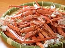 夕食バイキングにかにの茹で足をご用意!*蟹の種類は仕入状況に応じてご用意致します*