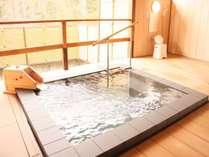 貸切露天風呂当日12:00~フロントのみ予約受付(1組30分利用・先着順)