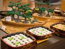 夕食バイキング一例 (お寿司)
