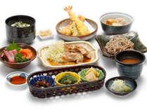 *夕食一例/レストランで戴く会席料理