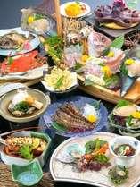 【通年】名産のたこ・蟹・車海老の踊り・しらす等新鮮な海の幸が満載♪「松島の膳」