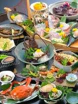 【通年】伊勢海老をはじめ、旬の食材をふんだんに使った大漁屋自慢のコース「大漁の膳」