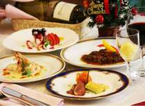 【カップル・女子旅にオススメ】メリークリスマス!!★12月限定ディナー付プラン♪♪